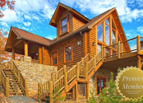 Mystic Pines Log Home