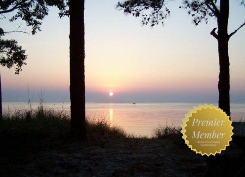 Chesapeake Bay, Sandy Beach, Our Purple Cottage