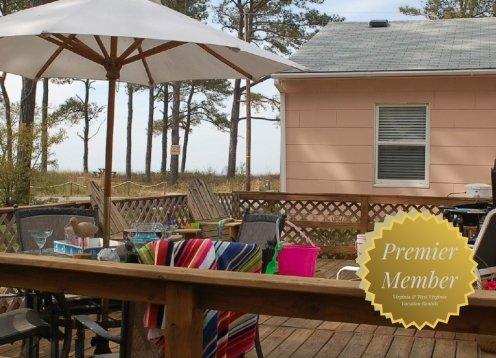 Chesapeake Bay, Sandy Beach, Our Peach Cottage